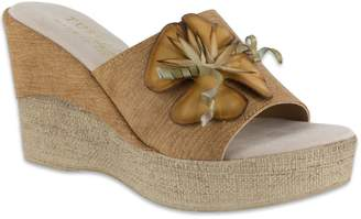 Easy Street Shoes Tuscany by Castello Women's Wedge Sandals