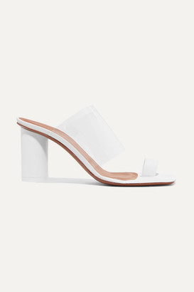 Neous Chost Leather And Pvc Sandals - White