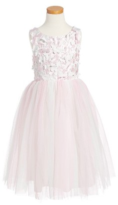 Toddler Girl's Biscotti Floral Ballerina Dress $98 thestylecure.com