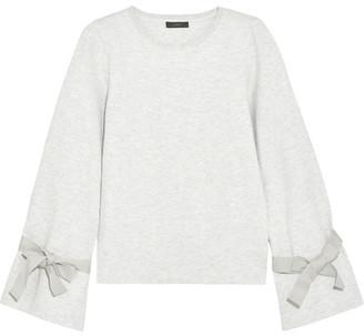J.Crew Cotton-blend Jersey Sweatshirt - Light gray