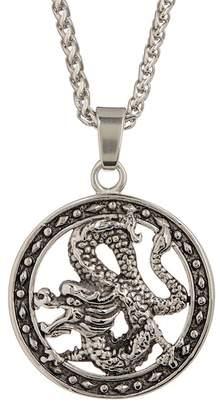 Dragon Optical Jean Claude Pendant Necklace