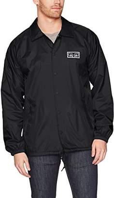 Obey Men's Eyes Coaches Jacket