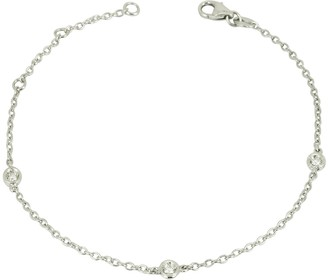 Forzieri 0.09 ct DiamondS 18K Gold Bracelet