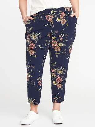 Old Navy Mid-Rise Secret-Slim Plus-Size Harper Pants