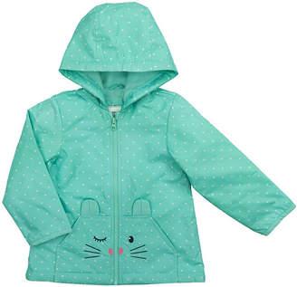 Carter's Girls Midweight Raincoat-Baby