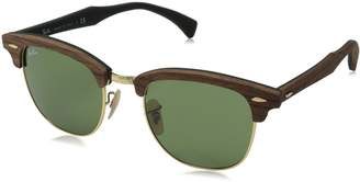 Ray-Ban RB3016 Classic Clubmaster Sunglasses, Non-Polarized