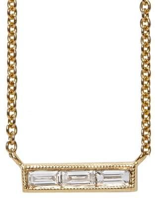 Couture SETHI Diamond Baguette Necklace