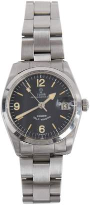 Tudor Silver Steel Watches