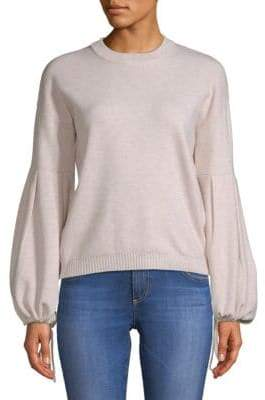 Endless Rose Heathered Bell-Sleeve Sweater