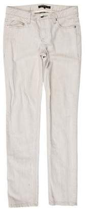 Theory Low-Rise Straight-Leg Jeans