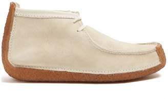 Lemaire X Clarks Redland suede desert boots