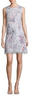 Elie Tahari Sklya Printed Dress $498 thestylecure.com