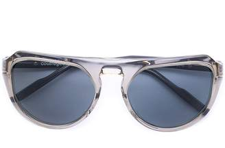 Courreges round frame sunglasses