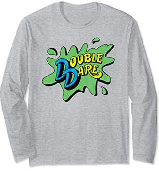 Nickelodeon Green Double Dare Splat Long Sleeve T