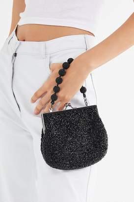 Urban Outfitters Tiffany Beaded Kiss Lock Bag