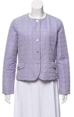 Max Mara Weekend Puffer Button-Up Jacket