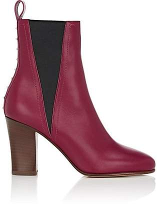 Valentino WOMEN'S LOVESTUD LEATHER ANKLE BOOTS