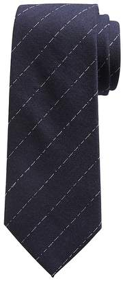 Banana Republic Broken Pinstripe Wool-Silk Nanotex® Tie