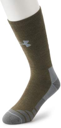 Under Armour Men's ColdGear Hitch Heavy 3.0 Boot Socks