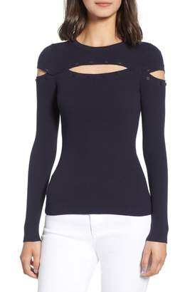 Bailey 44 Scholastic Cutout Sweater