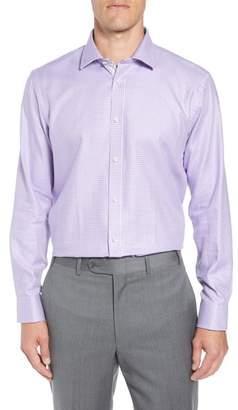 Ted Baker Franks Trim Fit Houndstooth Dress Shirt
