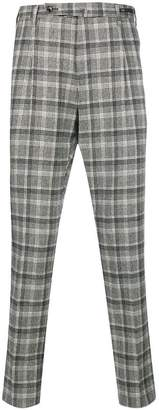 Pt01 checked trousers
