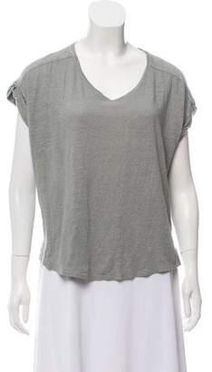 Rag & Bone Linen Oversize T-Shirt
