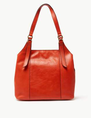 M&S CollectionMarks and Spencer Leather 3 Compartment Hobo Bag