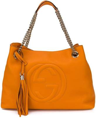 Gucci GG logo tote bag