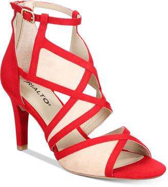 Rialto Ria Colorblocked Dress Sandals Women's Shoes