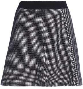 MAISON KITSUNÉ Cotton Knitted Mini Skirt
