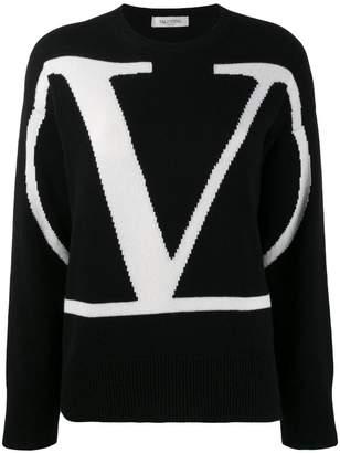 Valentino cashmere Go Logo sweater