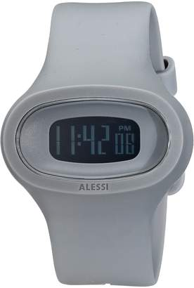 Alessi Men's AL25005 Jak Polyurethane Grey Designed by Karim Rashid Watch