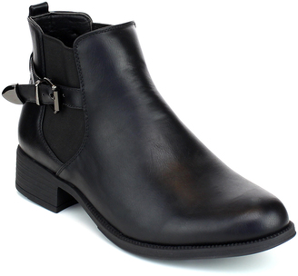 Black Laker Ankle Boot $39.99 thestylecure.com
