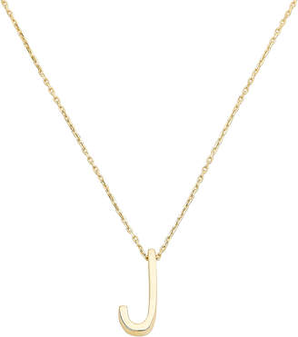 Nickho Rey J Alphabet Necklace