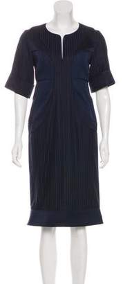 Richard Chai Short Sleeve Midi Dress