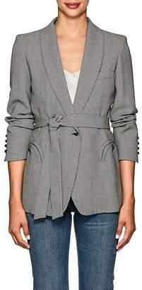 BLAZÉ MILANO Women's Houndstooth Wool Blazer