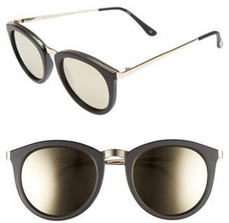 Le Specs No Smirking Limited 50mm Sunglasses $79 thestylecure.com