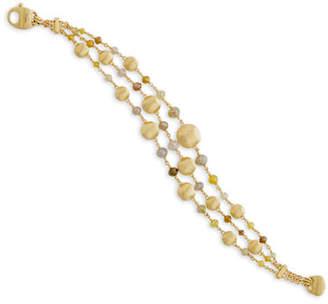 Marco Bicego 14k Unico Africa Diamond Multi-Strand Bracelet