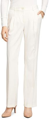 Lucia Fit Wool Gabardine Trousers $198 thestylecure.com