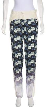 Rebecca Minkoff Mid-Rise Printed Pants