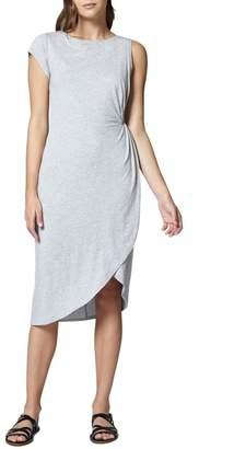 Sanctuary Salma Asymmetrical Faux Wrap Dress (Regular & Petite)