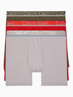 Calvin Klein comfort microfiber 3-pack boxer brief