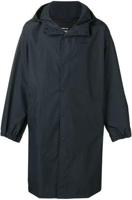 Helmut Lang loose fit raincoat