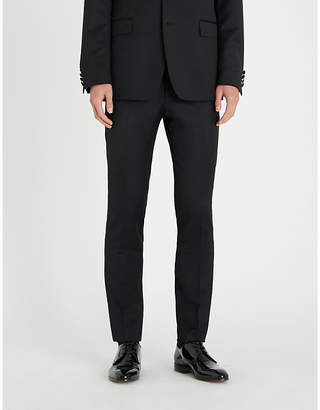 Tiger of Sweden Slim-fit skinny wool and mohair-blend trousers