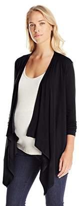 Ripe Maternity Women's Maternity Long Sleeve Nursing Wrap Top