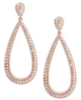 Nadri Pave Crystal Tear Drop Earrings