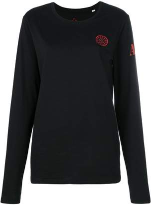 A.F.Vandevorst logo long-sleeve sweatshirt