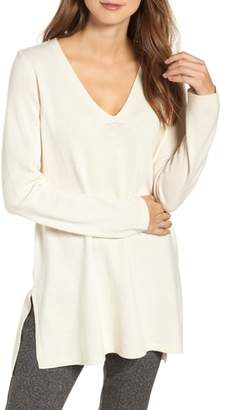 Eileen Fisher V-Neck Cashmere & Wool Tunic
