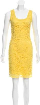 Alberta Ferretti Lace Knee-Length Dress